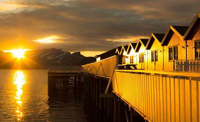 Kjerringøy solnedgang
