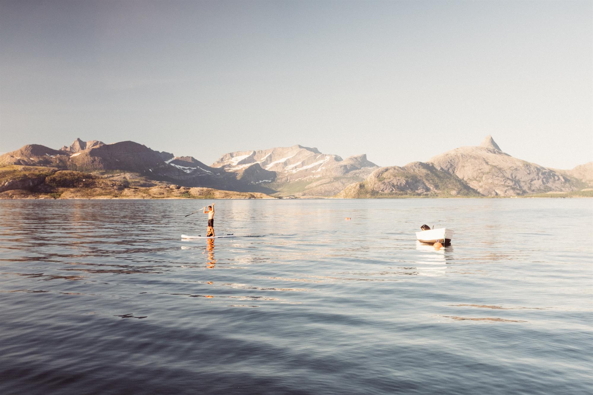 SUP på Kjerringøy